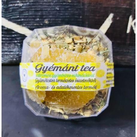 Gyémánt tea, citrom-gyömbér echináciával